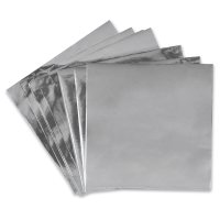 Metallic Silver Paper, Pkg of 25