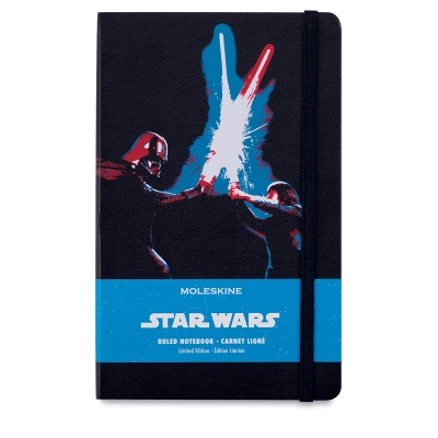 Moleskine Star Wars Notebook, Lightsaber Duel