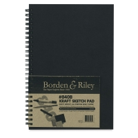 Borden & Riley #840B Kraft Sketchbooks