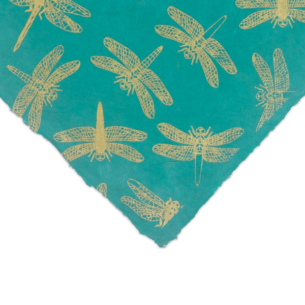 Dragonfly (Gold and Green)