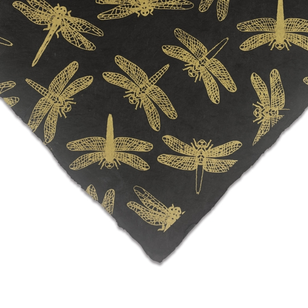 Dragonfly (Gold and Black)