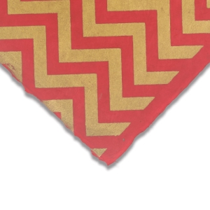Chevron (Gold and Red)