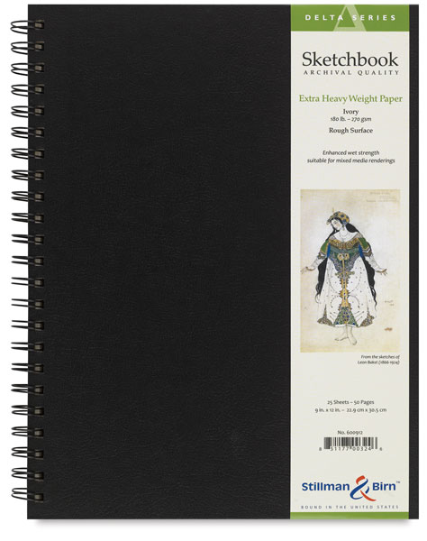 Delta Series Sketchbook, Wirebound