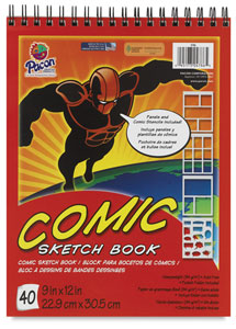 Comic Sketch Book, 40 sheets