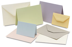 Arturo Cards and Envelopes Available in Eight Shades
