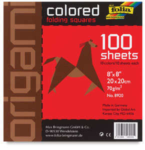 Assorted Colors, 100 Sheets