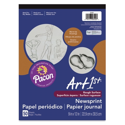 Newsprint Pad, 50 Sheets