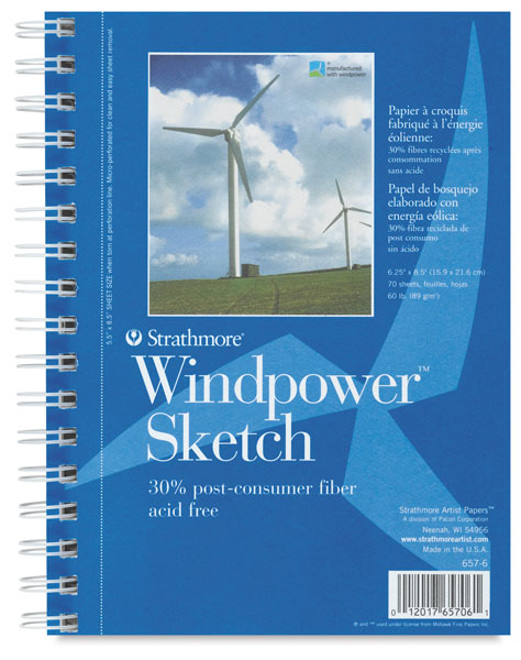 Spiral Bound Sketch Pad
