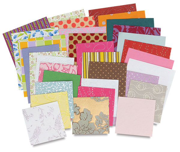 "Decorative Paper Assortment, ½"" lb"