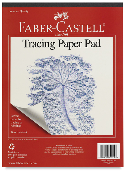 Tracing Paper Pad, 40 Sheets