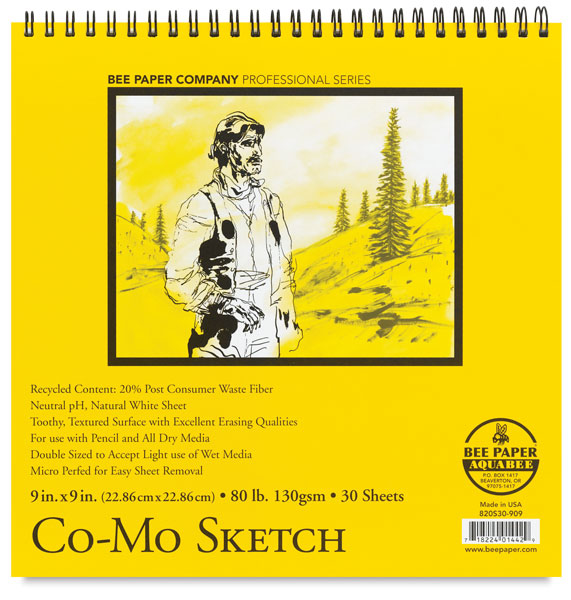 "Co-Mo Sketch Pad, 9"" × 9"""