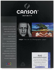 Rag Photographique, Pkg of 25