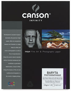 Baryta Photographique, Pkg of 25