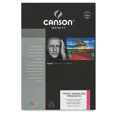 Photo HighGloss Premium Resin Coated Art Paper, Pkg of 25