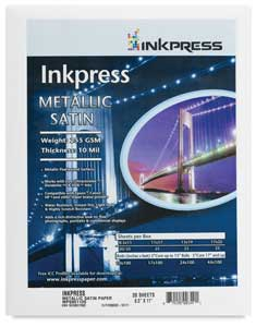 Inkpress Metallic Satin, Pkg of 20
