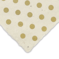 Dots (Gold and White)
