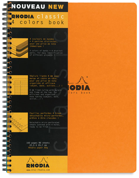 4-Color Book, Orange