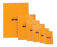 Rhodia Orange Notepads