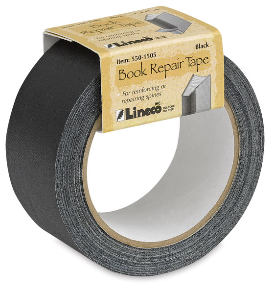 Spine Repair Tape, Black