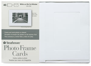 Photo Frame Cards, Pkg of 40