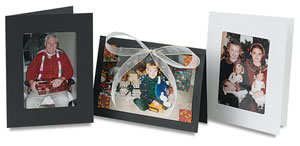 Sample Photo Mount and Frame Cards