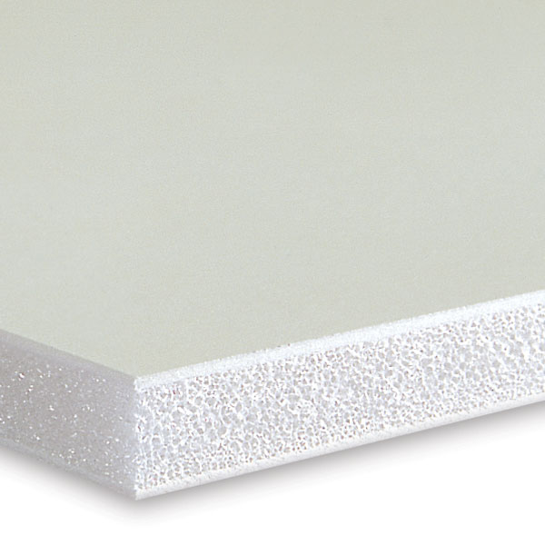 Foamboard, White with White Core