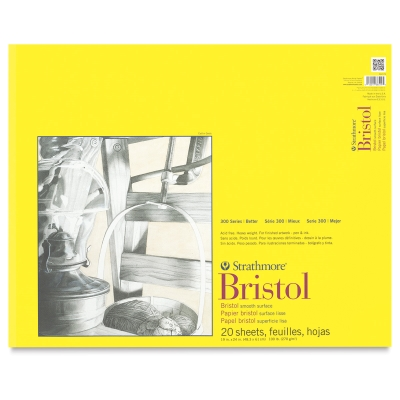 "Bristol Pad, Smooth<br>19"" × 24"""