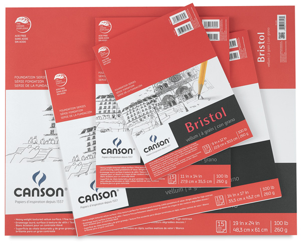 Canson Foundation Bristol Pads