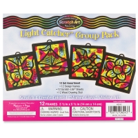 Scratch-Art Light Catchers Group Pack