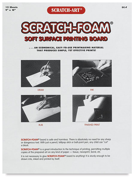 Scratch-Foam Board, Pkg of 12