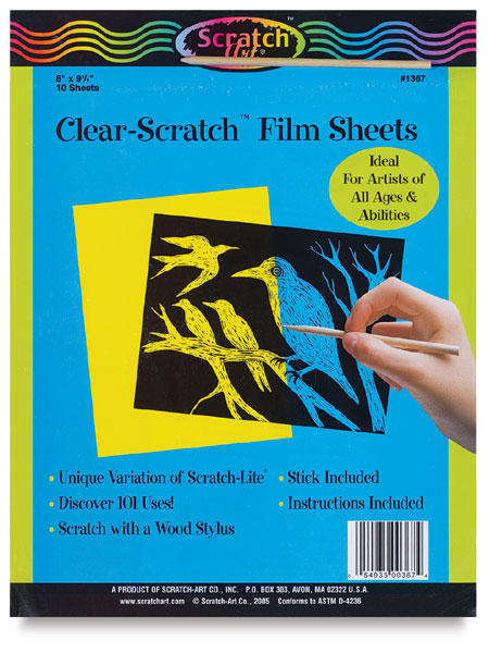 Clear Scratch Film, 10 Pack