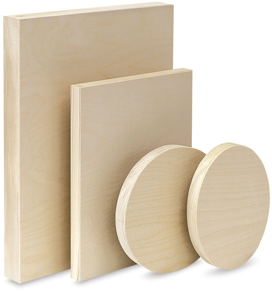 Wood Painting Panels - American Easel Wood Painting Panels - BLICK Art Materials