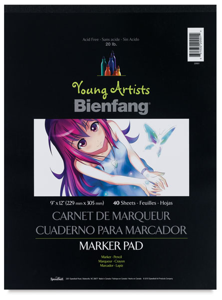Young Artists Marker Pad