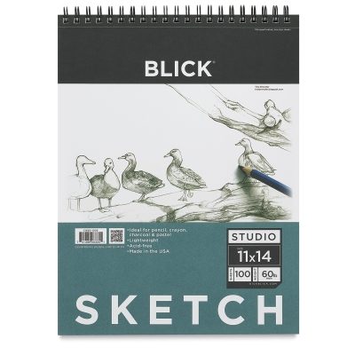 "11"" x 14"" Sketch Pad, 100 Sheets"