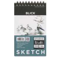 "5-1/2"" x 8-1/2"" Sketch Pad, 100 Sheets"