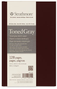 400 Series Toned Sketch Journal, Cool Gray