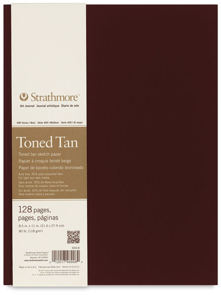 400 Series Toned Sketch Journal, Warm Tan