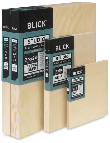 Blick Birch Wood Panels