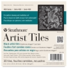 "400 Series Black Artist Tiles, 6"" × 6"", Pkg of 30 Tiles"