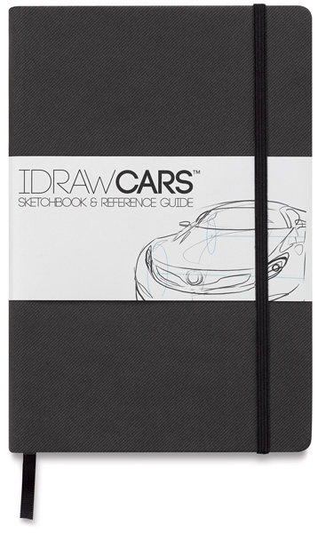 IDraw Cars Sketchbook & Reference Guide