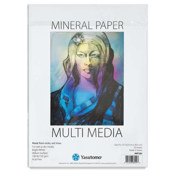 Mineral Paper Artist Pad, 20 Sheets