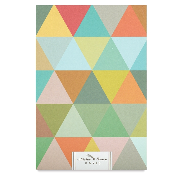 Triangles d'Or, 120 Sheets of White Paper
