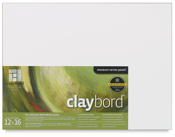 "Claybord, 1/8"" Thick"