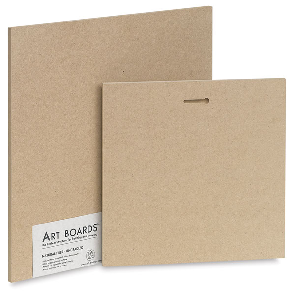 Natural Fiber Painting Panels