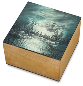 "Sample Artwork, 5"" × 5"" Box"