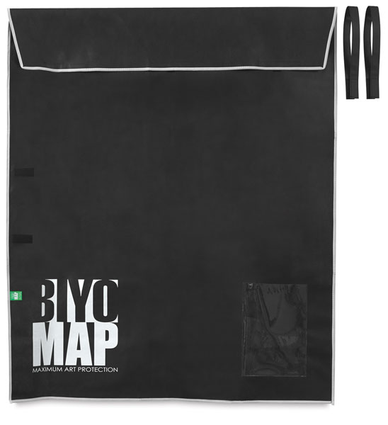 "BIYOMAP Art Protection Case, 43"" x 51"" w/ White Border"