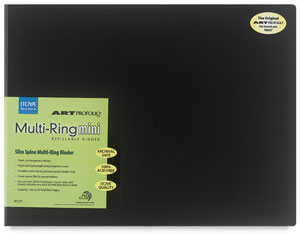 "Multi-Ring Mini Binder, 11"" × 14"""