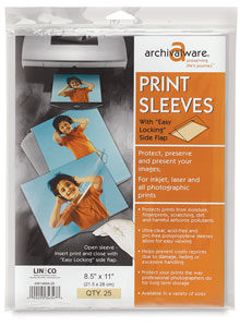 Digital Print Sleeves, Package of 25