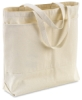 Large Canvas Tote Bag, w/ Pockets