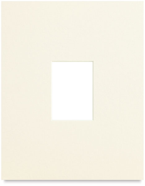 Artist Trading Card Single Mat, Ivory